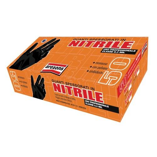 Confezione 50 guanti in nitrile